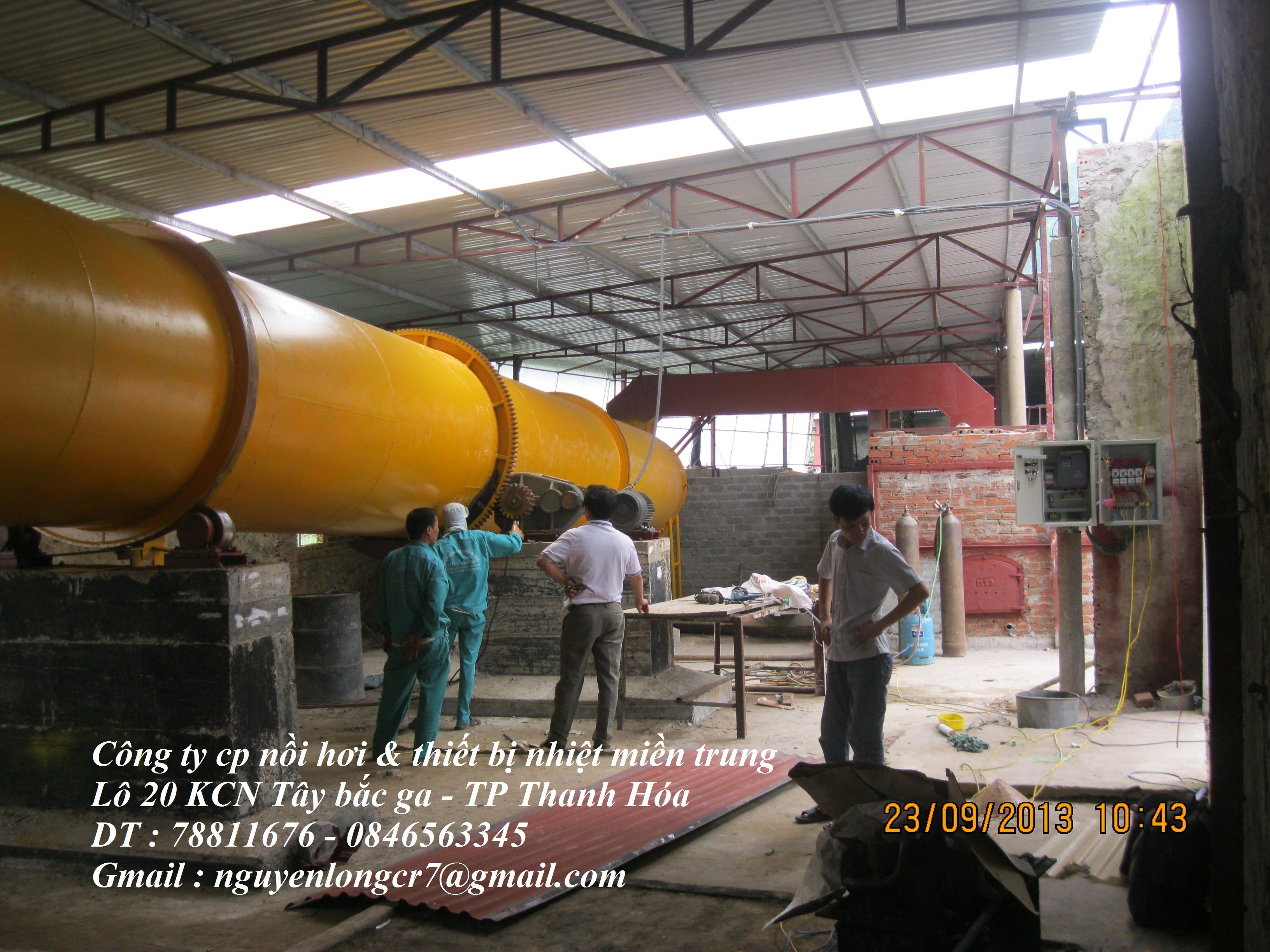 Dây chuyền sản xuất NPK bằng hơi nước