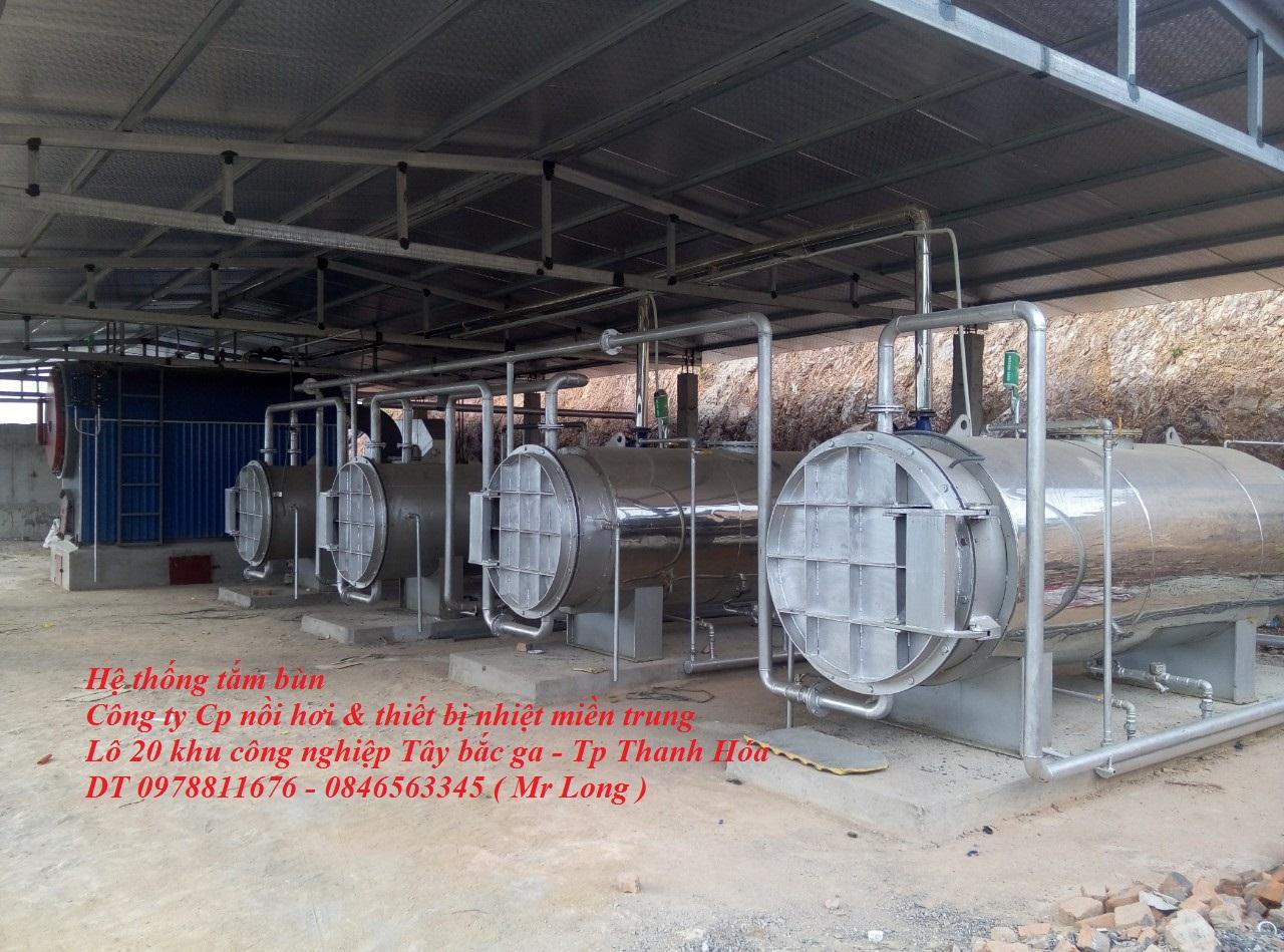 Hệ thống tắm bùn- thiết bị tắm bùn- thiết bị gia nhiệt bùn