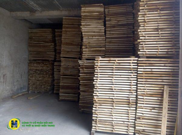 Hệ thống sấy gỗ bằng hơi nước