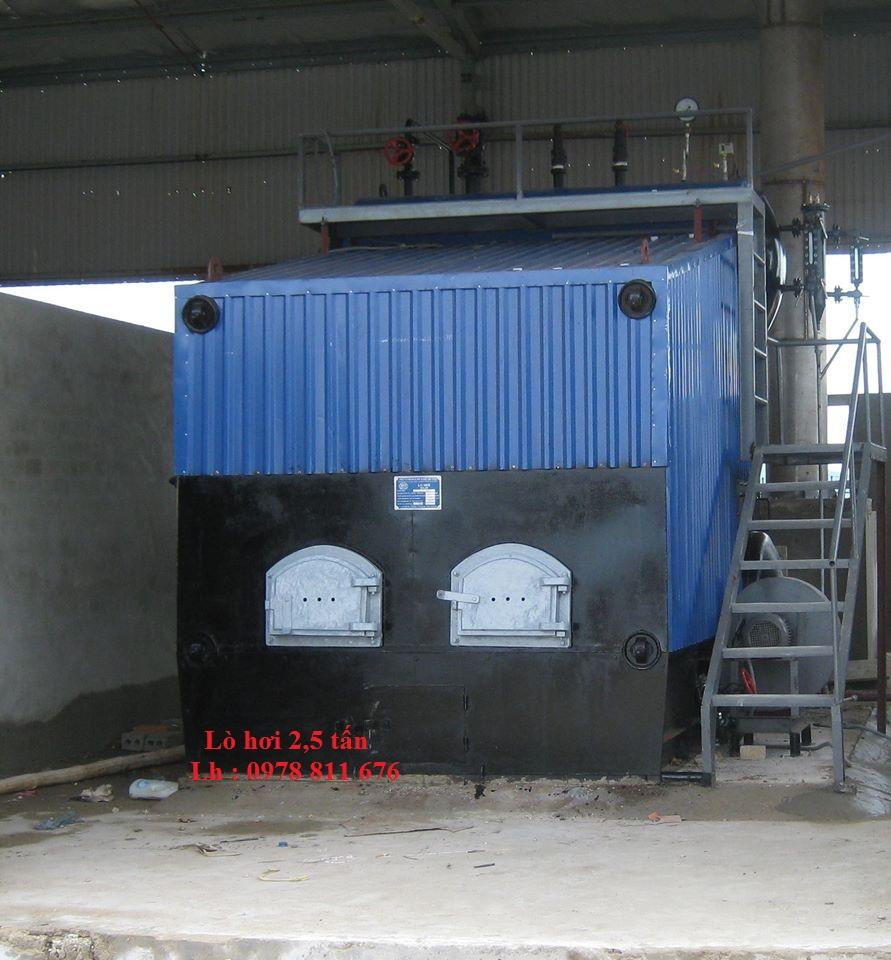 Lò hơi 2.5 tấn