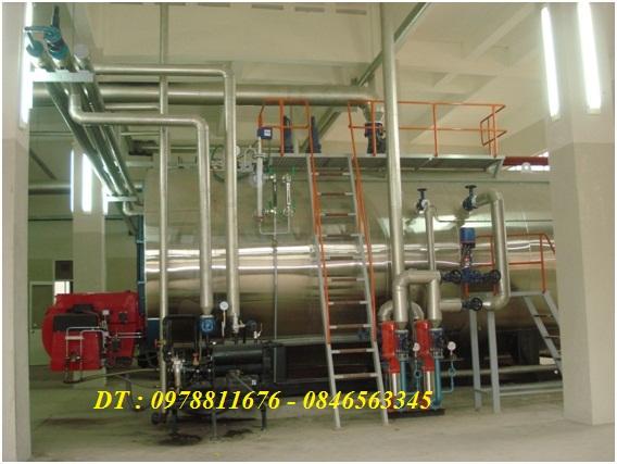 Hệ thống đường ống dẫn hơi