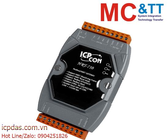 HRT-710: Bộ chuyển đổi Modbus RTU/ ASCII sang HART ICP DAS