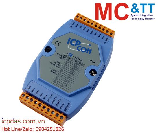 I-7018: Module RS-485 DCON và Modbus RTU 8 kênh đầu vào tương tự