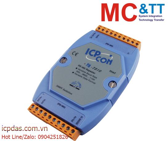 I-7510: Bộ lặp và cách ly RS-422/ 485 ICP DAS