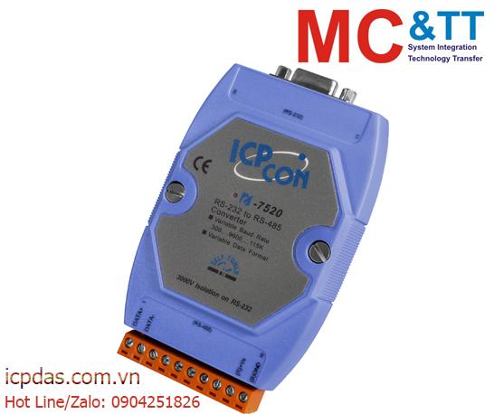 I-7520: Bộ chuyển đổi cách ly RS-232 sang RS-422/485 ICP DAS