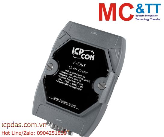 I-7565: Bộ chuyển đổi USB sang CAN ICP DAS
