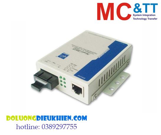 Model3012: Bộ chuyển đổi quang điện 1 cổng Gigabit Ethernet+ 1 cổng Gigabit Quang (2 sợi quang, Single mode, SC, 20km)