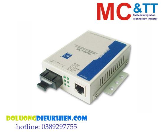 MODEL1100: Bộ chuyển đổi quang điện 1 cổng Ethernet + 1 cổng quang Single-Mode cáp đơn 3Onedata