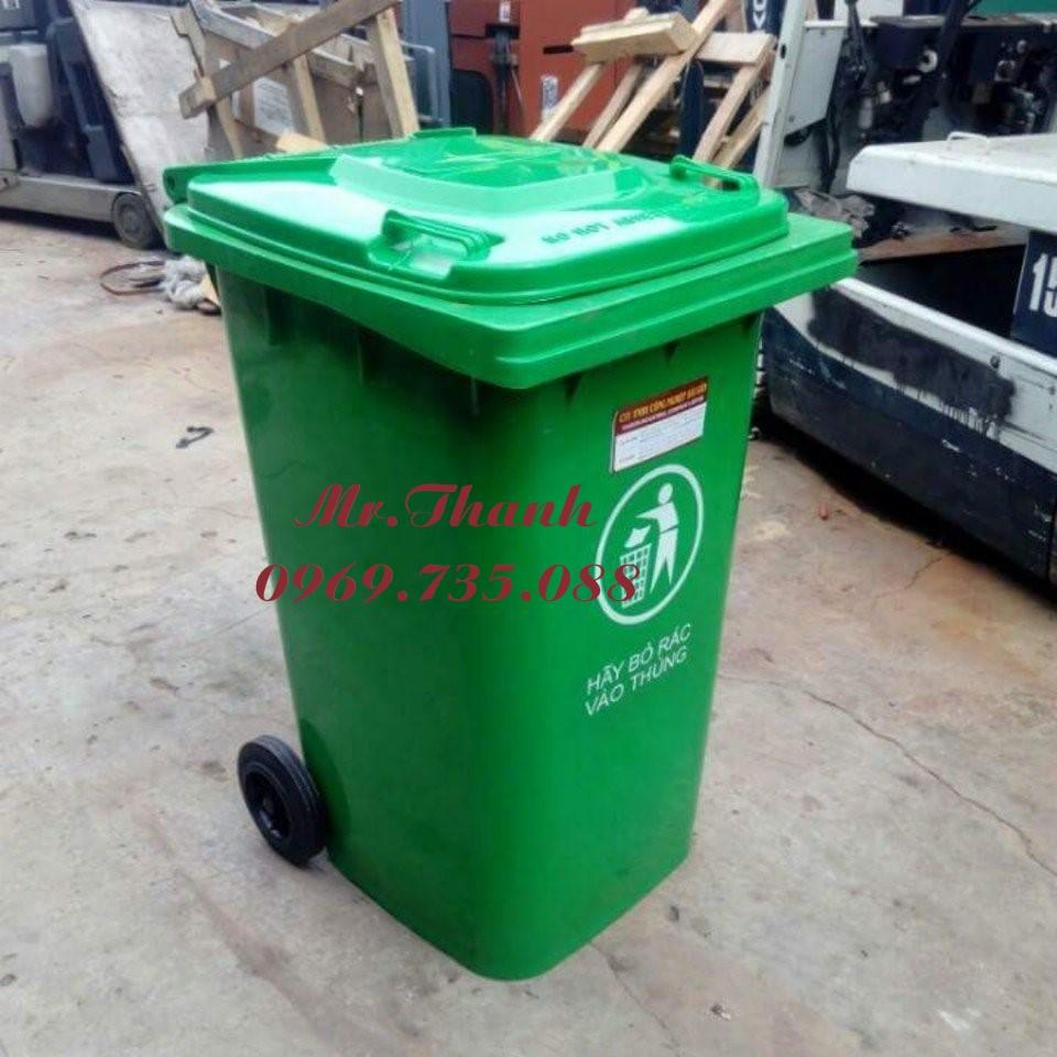 Thùng rác công cộng 120l, 240l