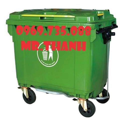 Thùng rác nhựa 450 lít