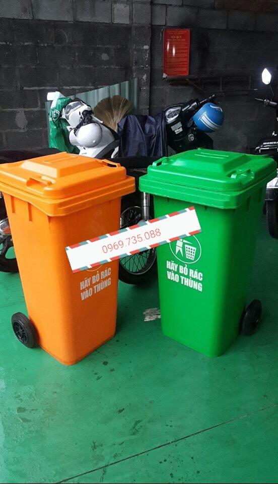 Thùng rác nhựa HDPE 240L-SG240