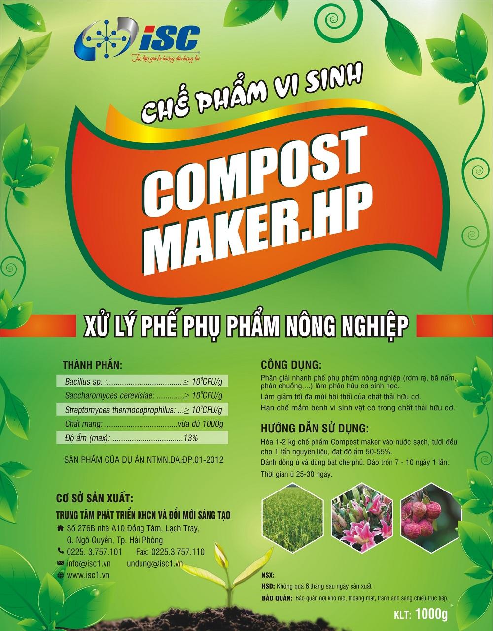 Chế phẩm vi sinh vật Compost Maker