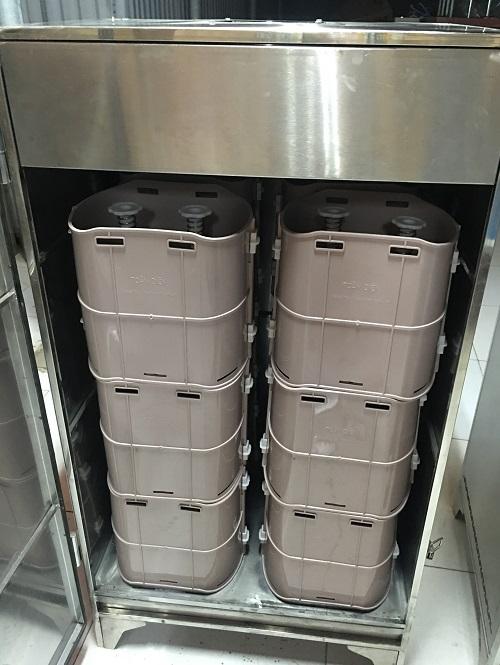 Máy ủ giá đỗ công nghiệp 250 kg/ mẻ