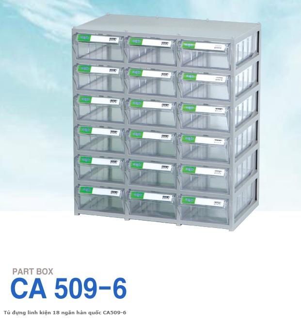 Tủ đựng linh kiện điện tử 18 ngăn