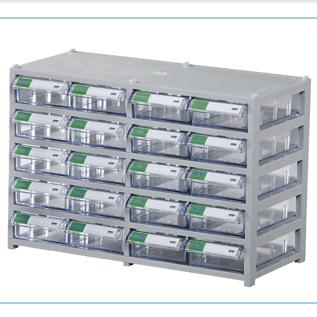 Tủ đựng linh kiện điện tử 20 ngăn