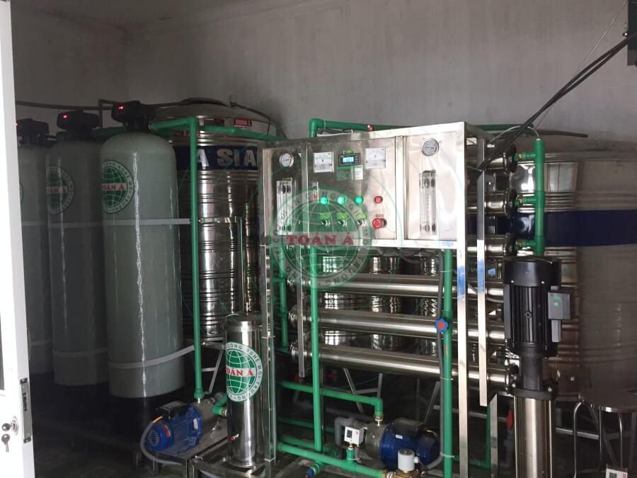 Dịch vụ lắp đặt hệ thống xử lý nước đóng bình, đóng chai