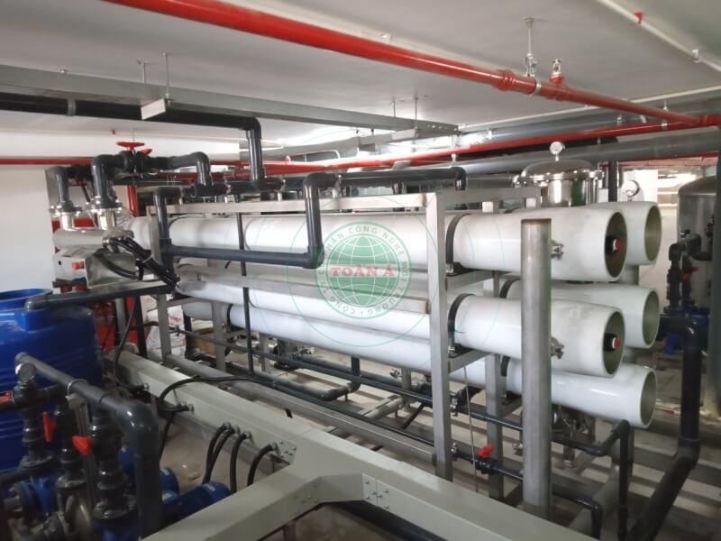 Hệ thống xử lý nước tinh khiết cho khách sạn