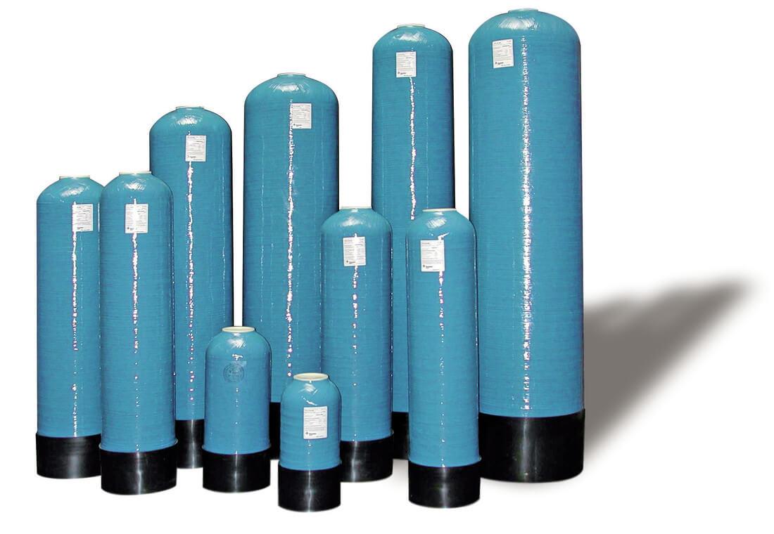 Cột lọc nước Composite Vican
