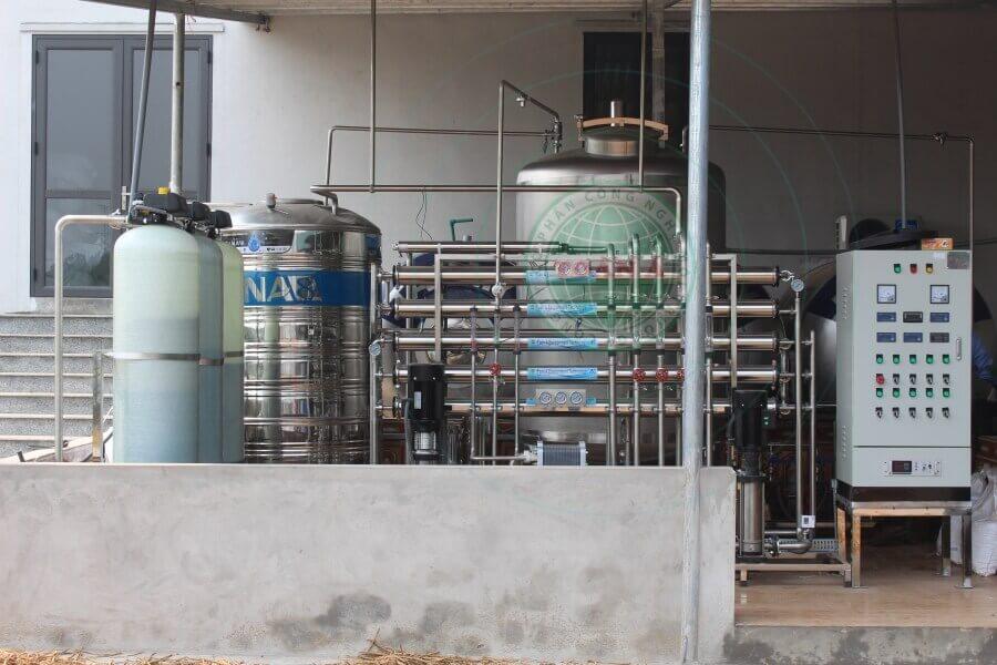 Hệ thống xử lý nước tinh khiết RO- EDI cho ngành sản xuất dược phẩm, mỹ phẩm