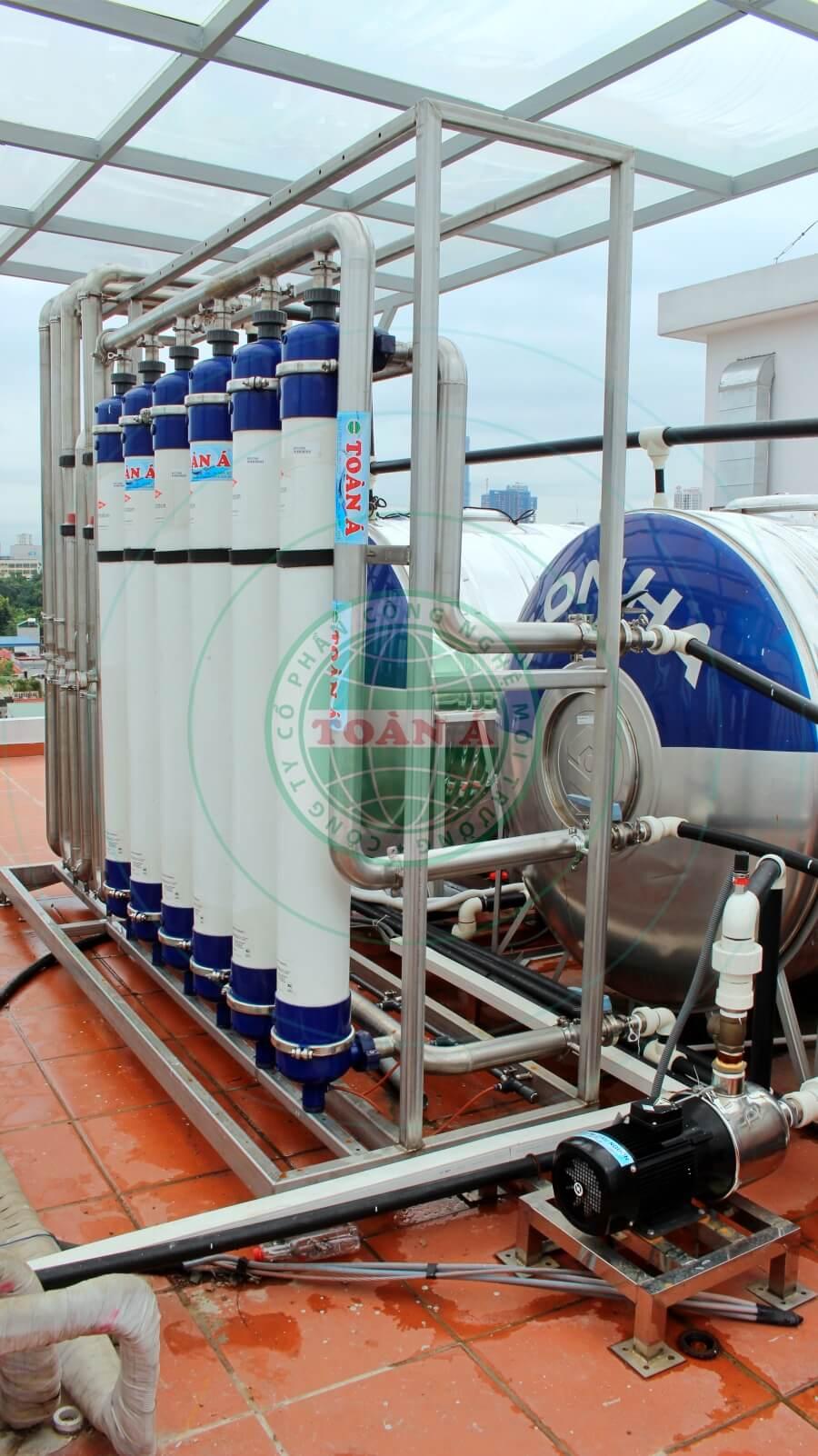 Hệ thống xử lý nước cấp, lọc tổng sinh hoạt cho nhà hàng, khách sạn, resort, khu chung cư,...