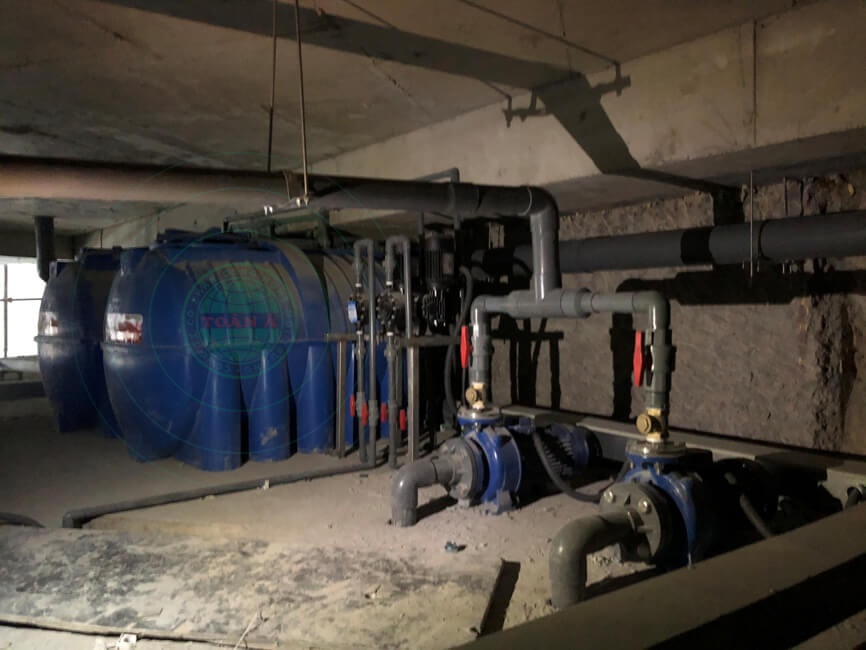 Hệ thống xử lý nước thải sinh hoạt sử dụng công nghệ sinh học AO