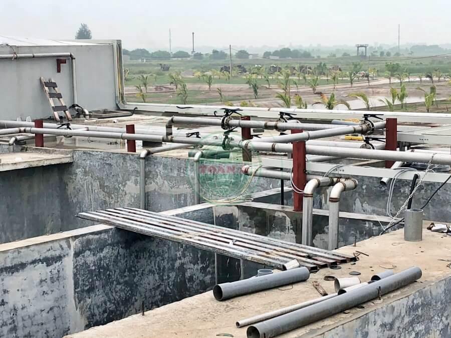 Hệ thống xử lý nước thải ngành chế biến thực phẩm