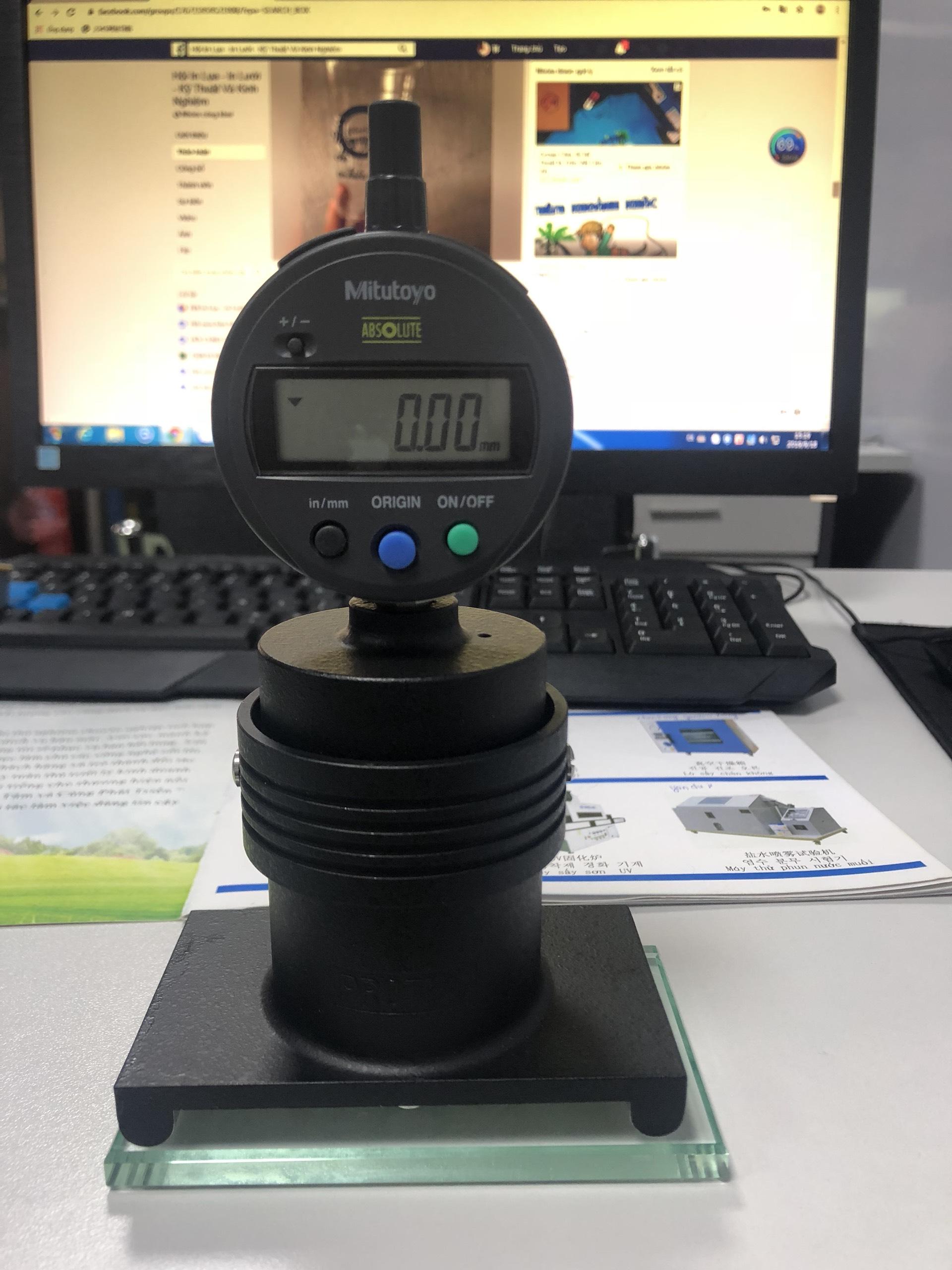 Thiết bị đo lực căng của màn hình in logo model STG-75D