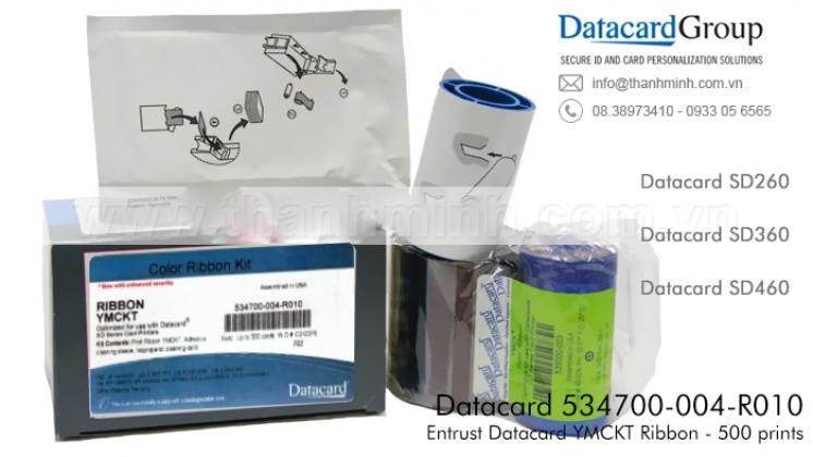 Mực in màu Datacard 534700-004-R010 - Ruy băng YMCKT 534700-004-R010