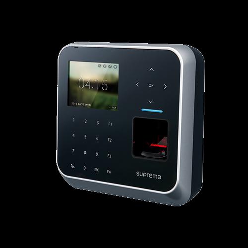 Máy chấm công vân tay, thẻ và mã PIN tích hợp bộ điều khiển Suprema BioStation 2