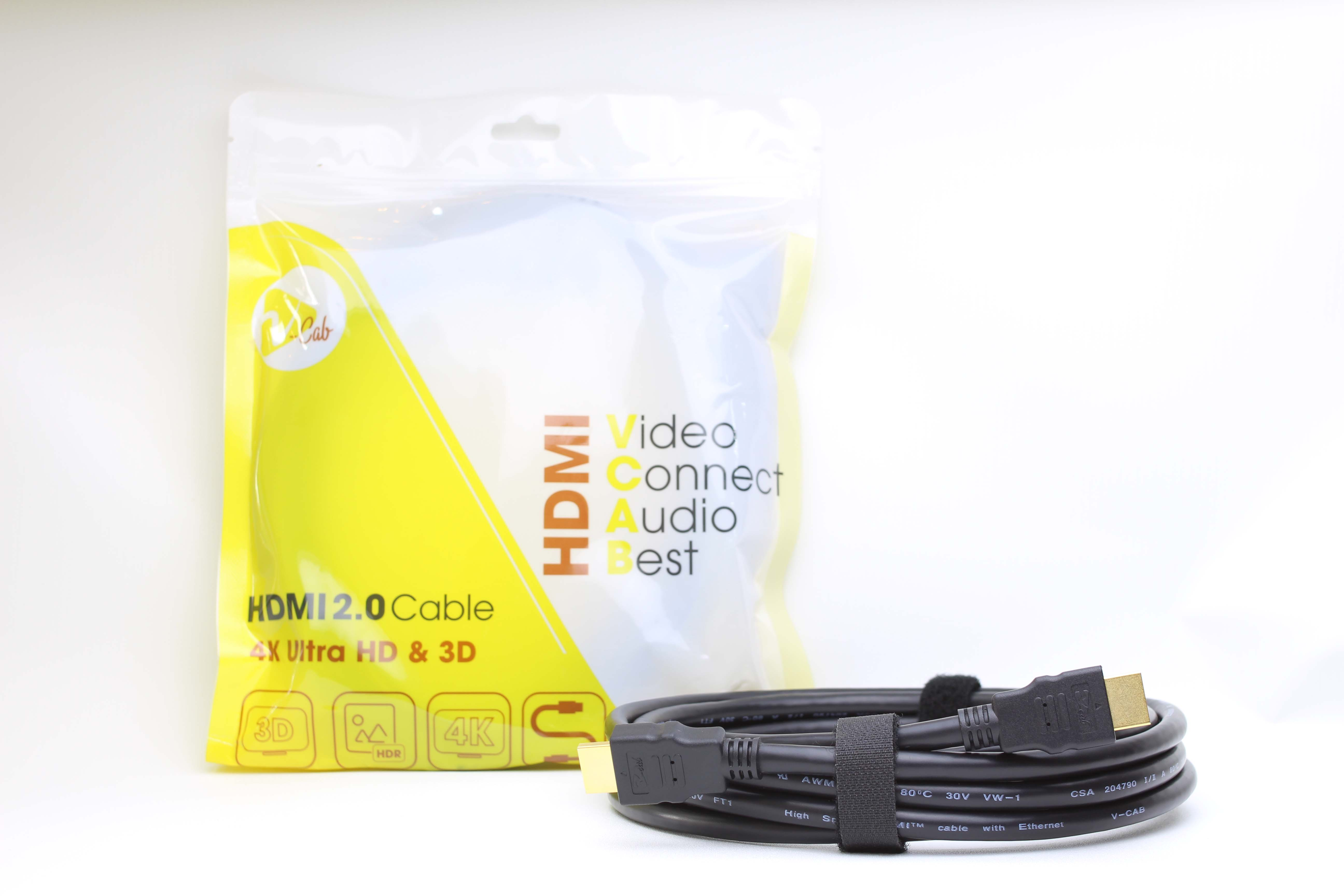 Cáp HDMI 2m tốc độ cao 28AWG V-CAB HDMI2.0A