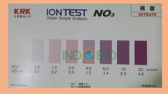 Bộ test NO3 (WIT-NO3) test nhanh Nitrat trong nước thải 0-20 PPM