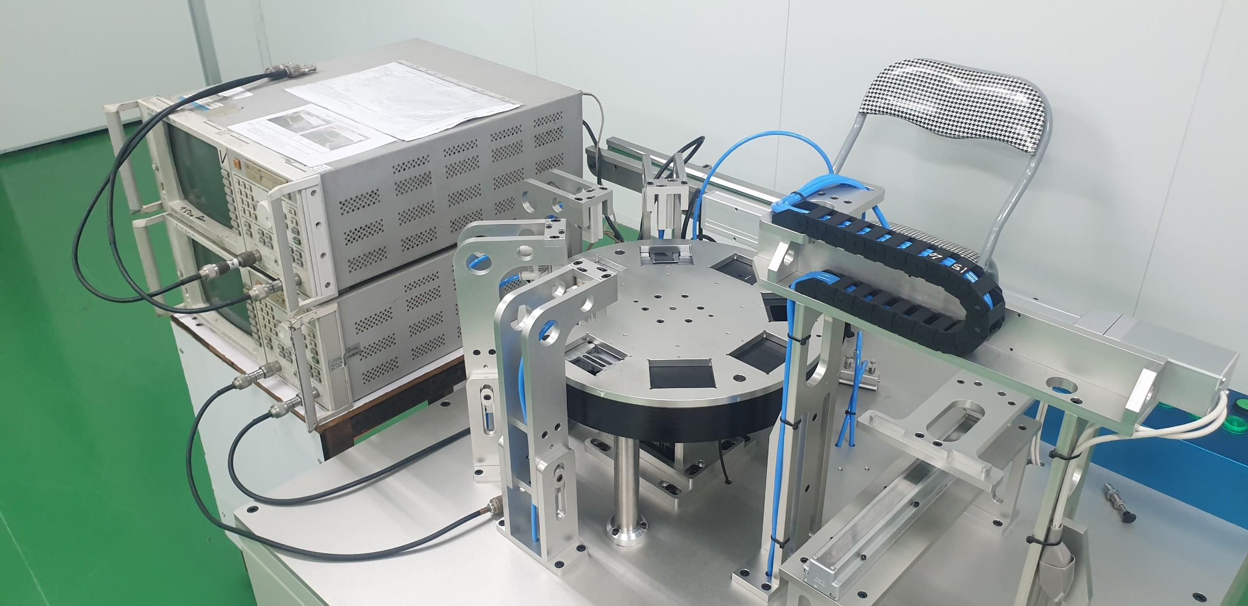 Máy kiểm tra phôi linh kiện điện tử tự động