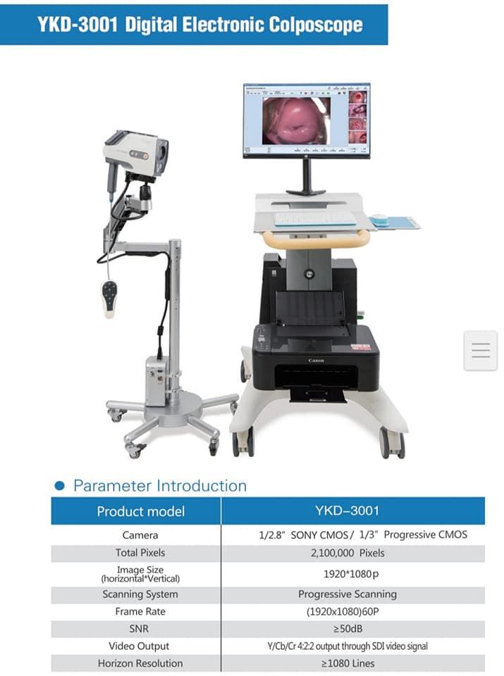 Máy nội soi cổ tử cung YKD-3001