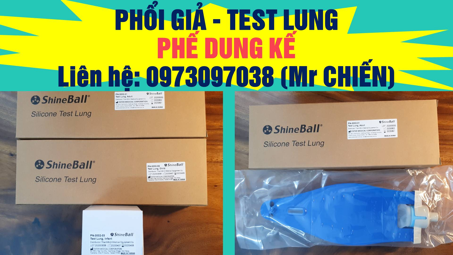Phổi giả/ Test lung