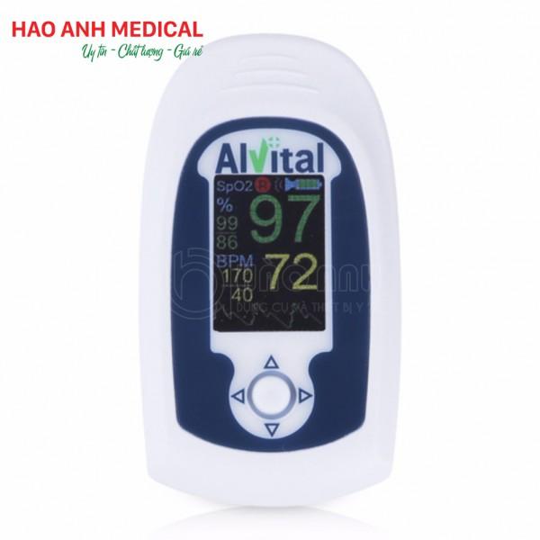 Máy đo nồng độ oxy (SPO2) trong máu Alvital AT101B