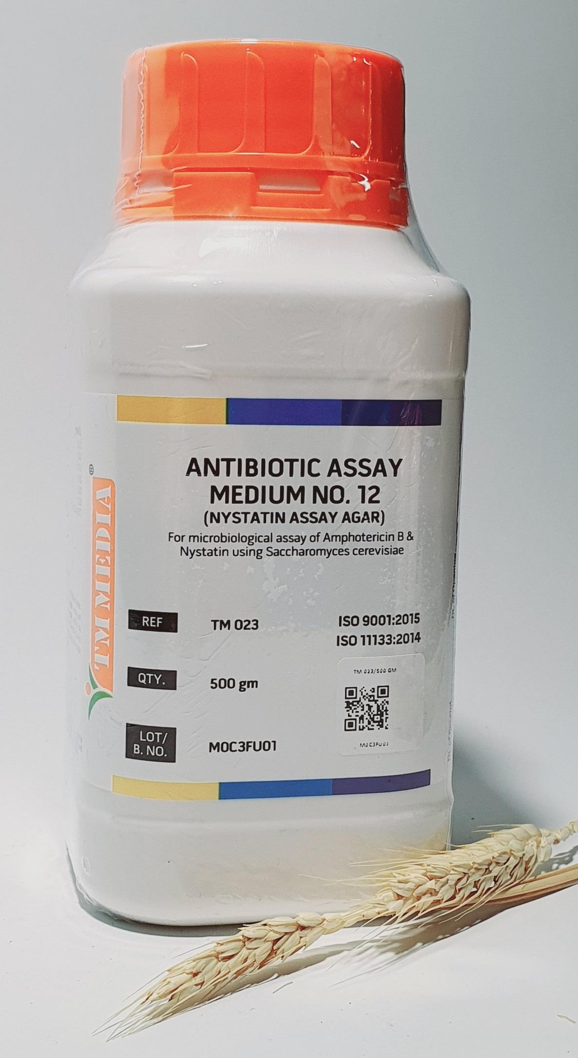 Antibiotic Assay Medium No.12 (Nystatin Assay Agar)