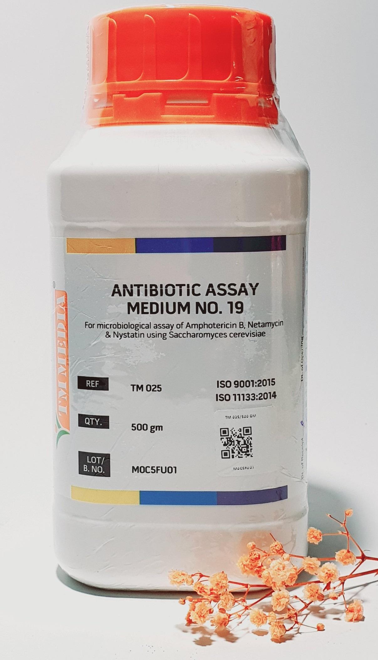 Antibiotic Assay Medium No.19