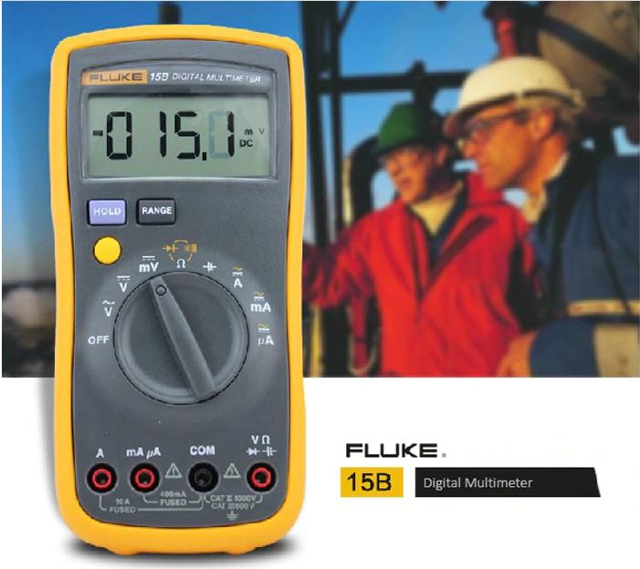 Đồng hồ vạn năng Fluke 15B+ 4000V AC/DC