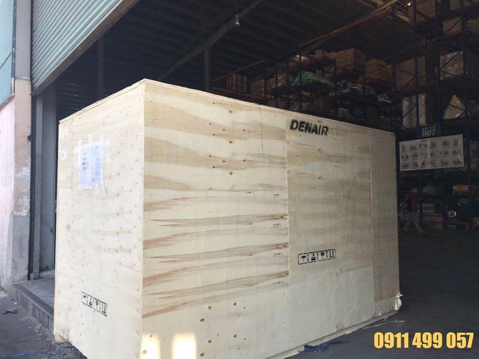 Máy nén khí trục vít có dầu Denair 110 Kw