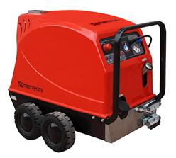 Máy rửa hơi nước nóng sử dụng điện kết hợp Diesel Menikini DI 20