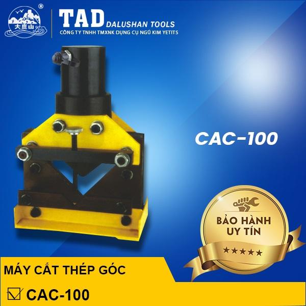 Máy cắt thép V thủy lực CAC-100