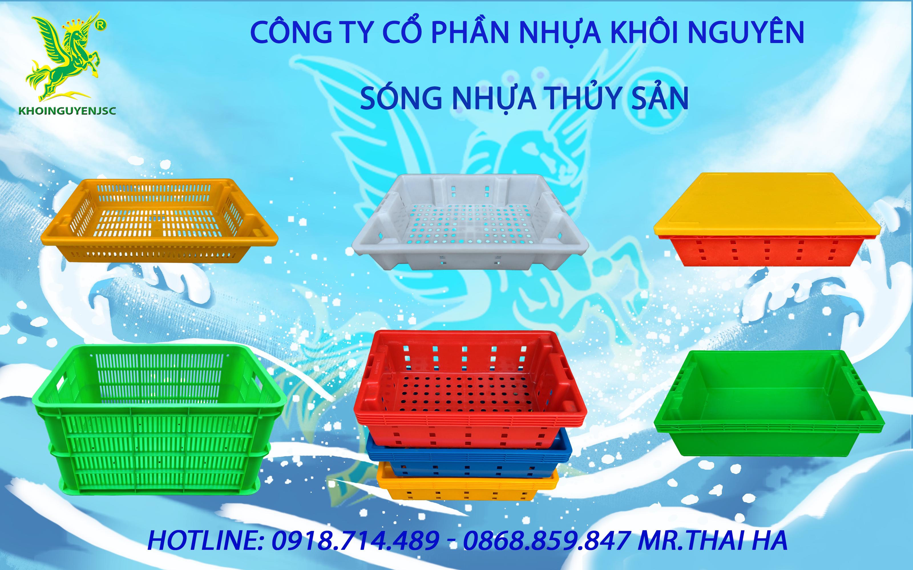 Sóng nhựa thủy sản