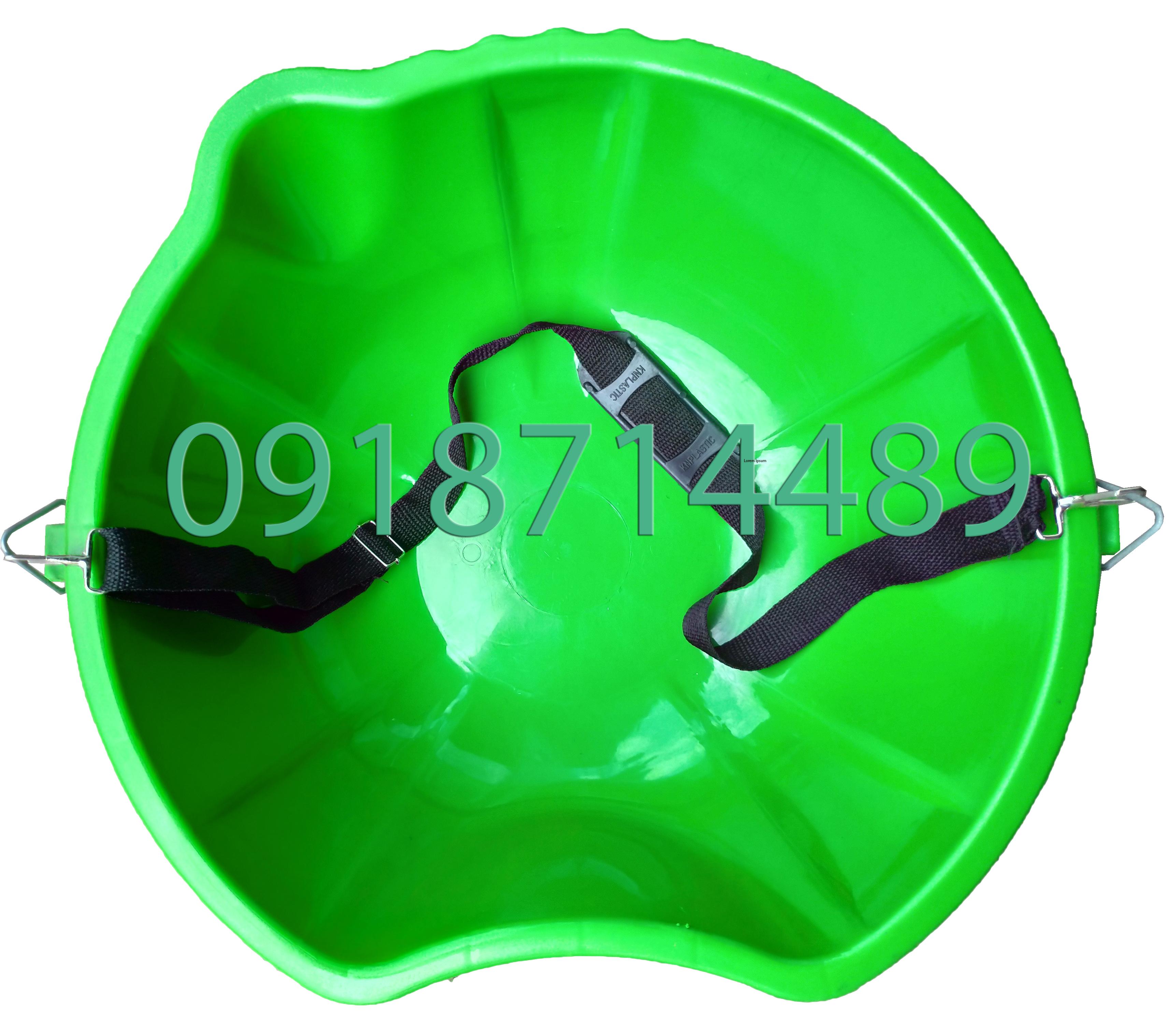 Thau nhựa rải phân