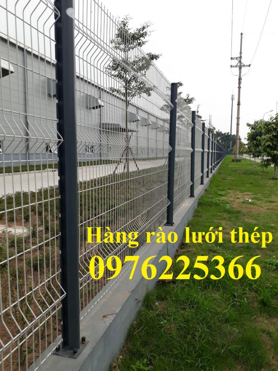 Hàng rào lưới thép sơn tĩnh điện D5 A (50x150), D5 A (50x200)