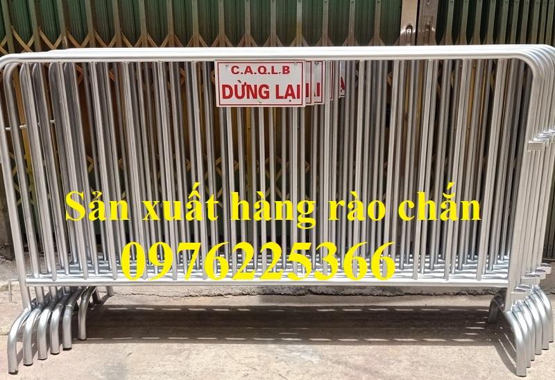 Hàng rào di động mạ kẽm giá rẻ