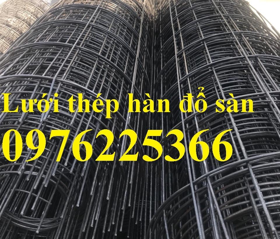 Lưới thép hàn D4A (150*150) mm, dạng tấm, dạng cuộn