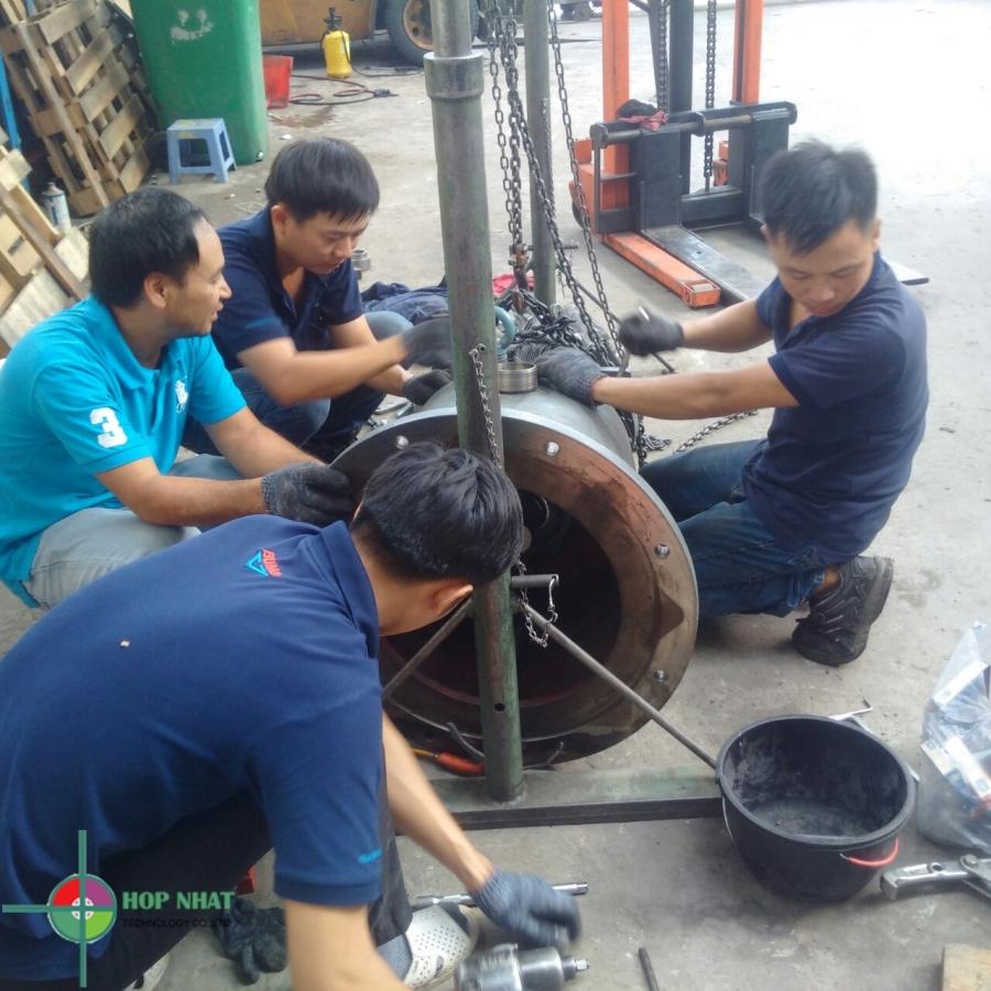 Sửa máy nén khí trục vít toàn quốc