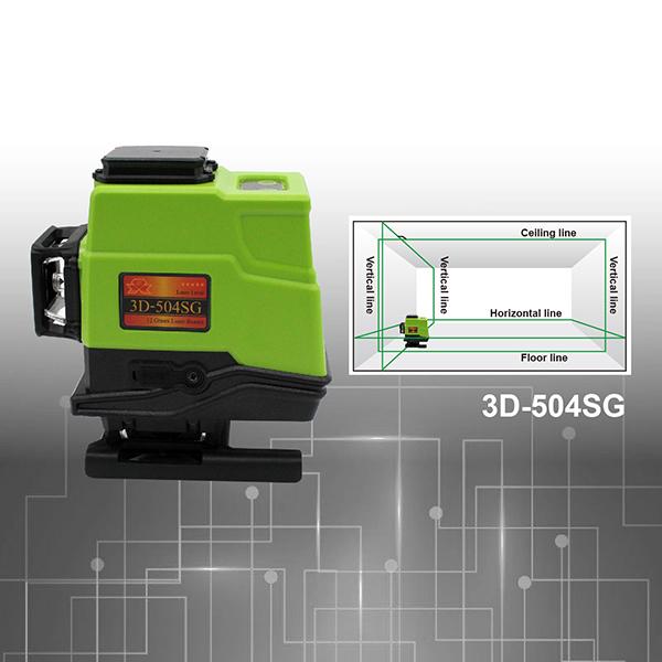 3D-502SG GPI green laser level
