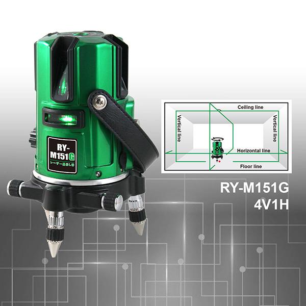 RY-M151TG 4V1H true green beam laser level