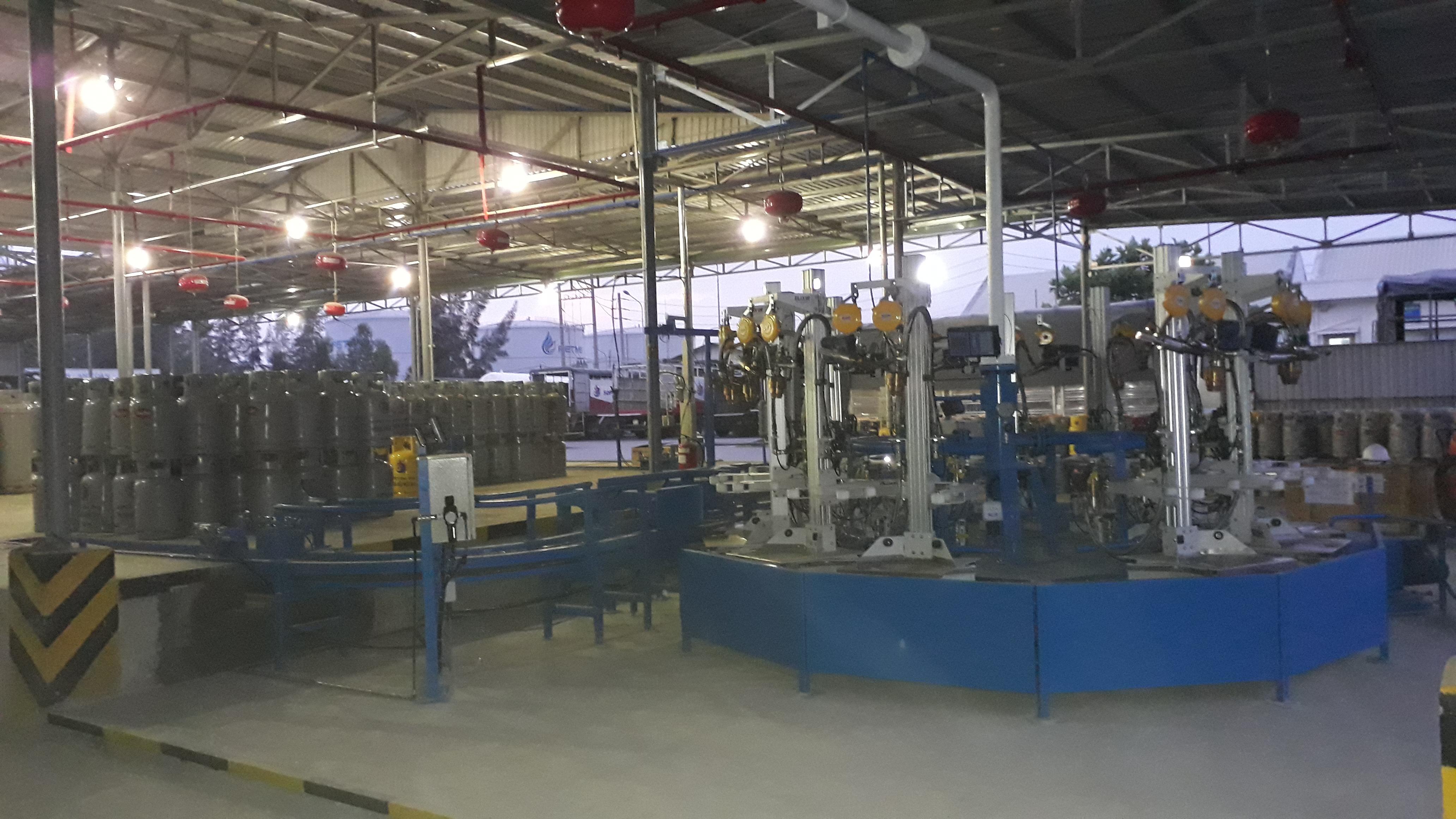 Hệ thống chiết nạp gas hãng Kosel